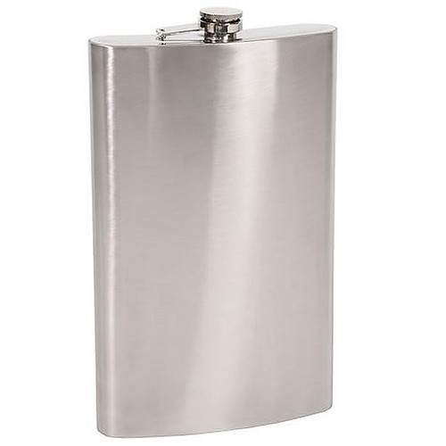 Stansport Stainless Steel Flask - 64 Oz