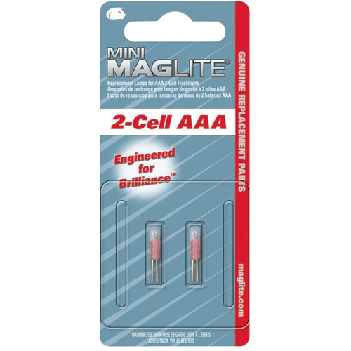 MagLite Lm3a001 Mini Replacement Lamp For Aaa 2-cell Flashlight