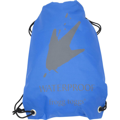 Frogg Toggs Waterproof Cinch Sack Blue