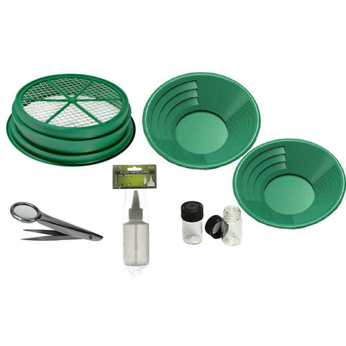 Sona Enterprises 7pc Gold Panning Set