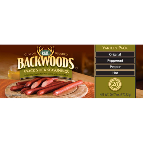 LEM Backwoods Snack Stick Seasoning Variety Pack