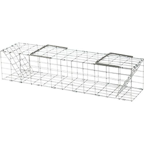 "Folding Muskrat Cage Trap 5""x5x""24"""