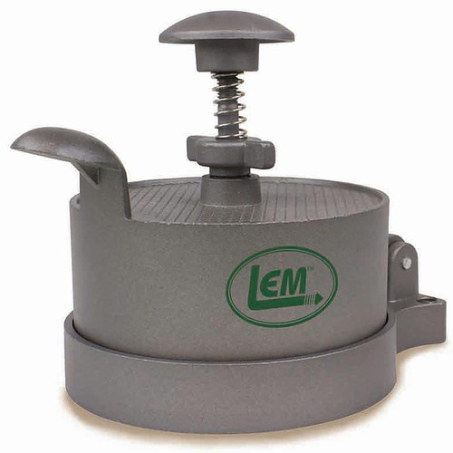LEM Spring-Loaded Burger Press