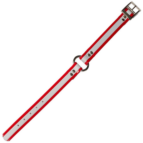 DANS DC340-RD-16 DAYGLO COLLAR W/O-RING RED