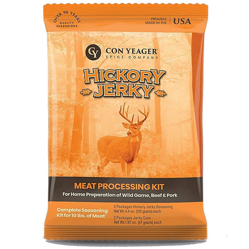 Con Yeager Hickory Jerky Kit