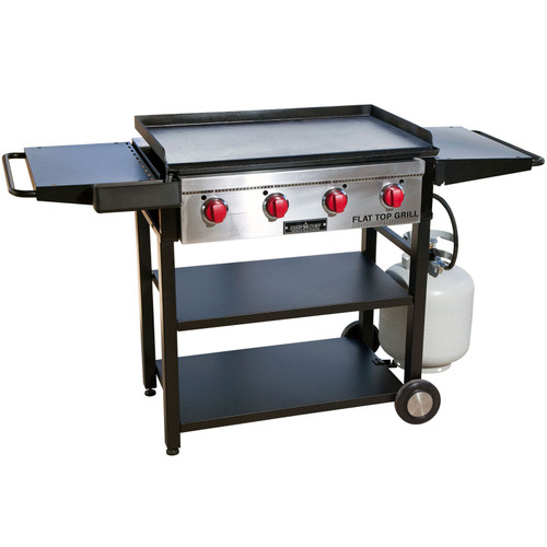 Camp Chef Flat Top Grill w/Cart