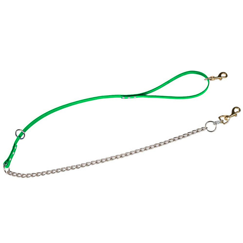 "Dayglo 3/4"" Tree Lead With Chain Green 5' Length"