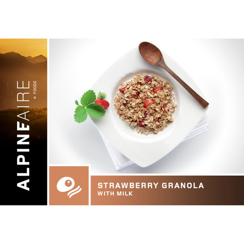 Alpineaire Foods Strawberry Granola W/Milk