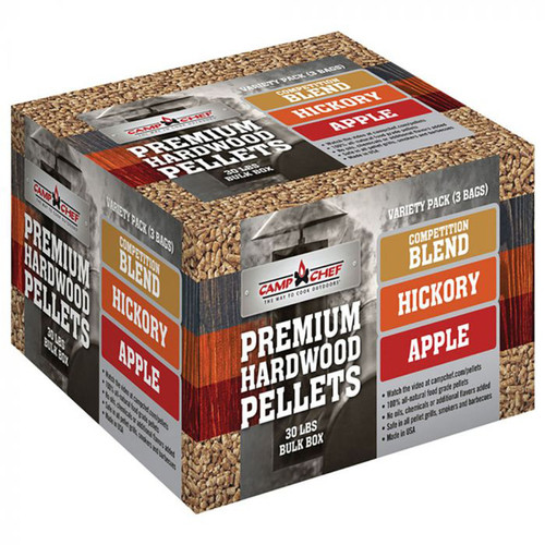 Camp Chef Premium Hardwood Pellets Variety Box