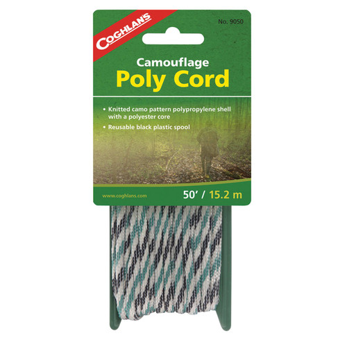 Coghlan's 9050 Camouflage Poly Cord - 50'