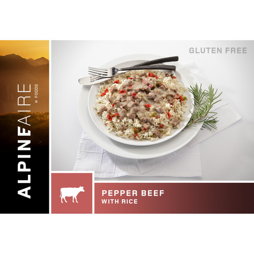Alpineaire Foods Pepper Beef W/Rice