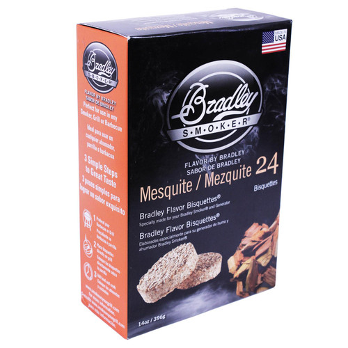 Bradley Smoker Mesquite Bisquettes 24 Pk