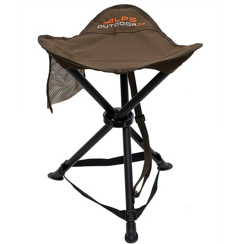 Alps OutdoorZ Hunting Tri-Leg Stool Coyote Brown