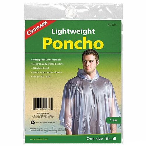 Coghlans Poncho Clear