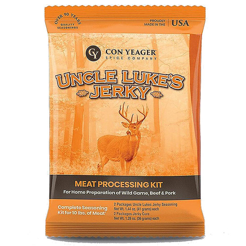 Con Yeager Uncle Luke's Jerky Kit