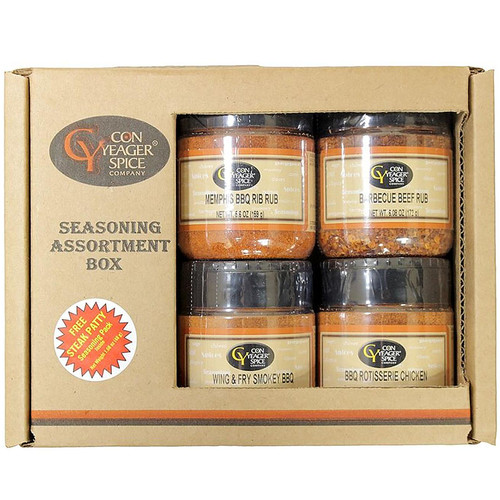 Con Yeager Spice BBQ Seasoning Assortment