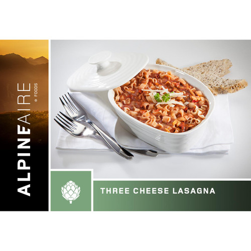 Alpineaire Foods Three Cheese Lasagna