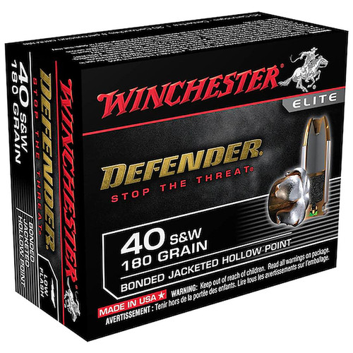 Winchester PDX1 .40 S&W 180 Grain BJHP 20 Rounds