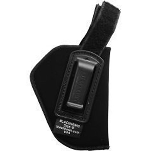"Blackhawk 73IR07BK-R Inside Pant Holster With Retention Strap 3.25""-3.75"" Barrel Med/Large Autos Black RH"