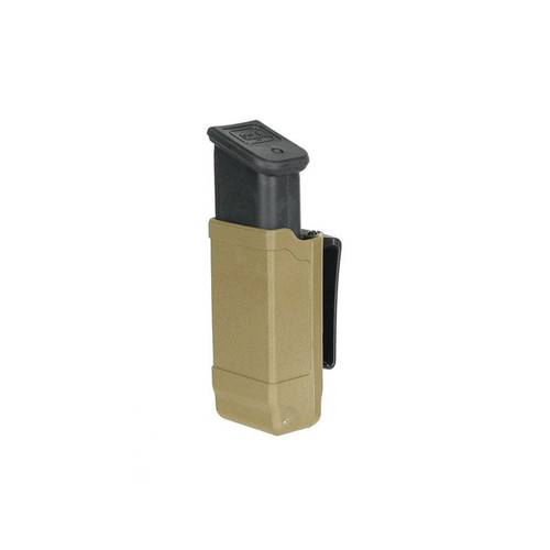 Blackhawk 410600PCT Polymer Double Stack Mag Case Coyote Tan 9/40/45