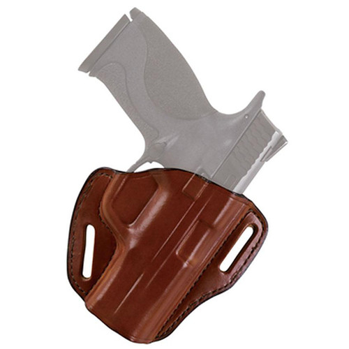 Bianchi 25000 58 P.I. Belt Slide Leather Hip Holster Tan RH