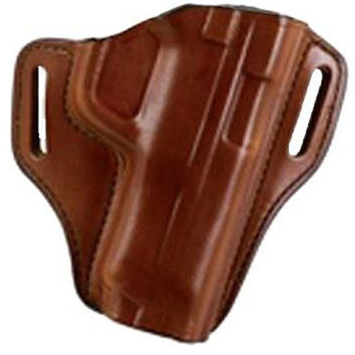 Bianchi 23940 57 Remedy Belt Slide Leather Hip Holster Tan RH
