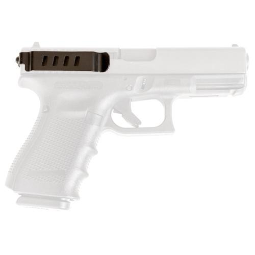 Techna Clip GLOCKBRL Conceal Carry Gun Belt Clip Glock Black CF AMBI