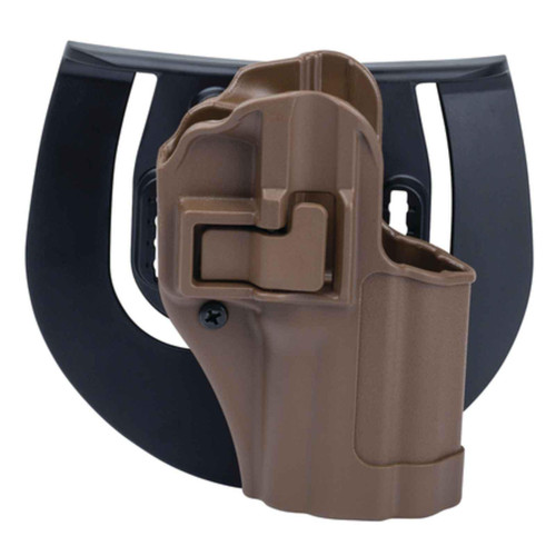 Blackhawk 410525CT-R Serpa CQC Holster w/ Paddle S&W M&P 9/40 Tan RH