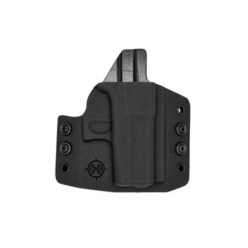 C&G Holsters 006-100 Covert OWB Kydex Black RH