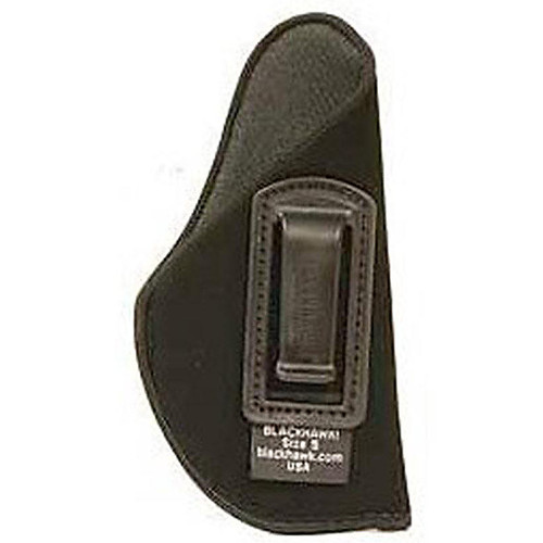 "Blackhawk 73IP06BK-R ISP Holster With Clip 3.75""-4.5"" Barrel Large Autos Black LH"