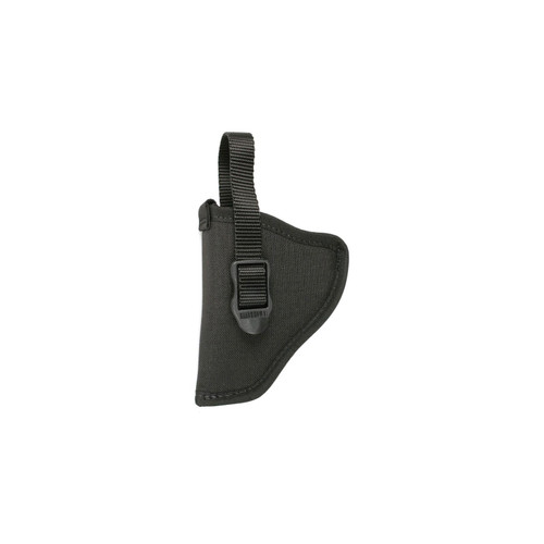 "Blackhawk 73NH18BK-L Hip Holster With Retention Strap 2""-3"" Double action Revolvers Black LH"