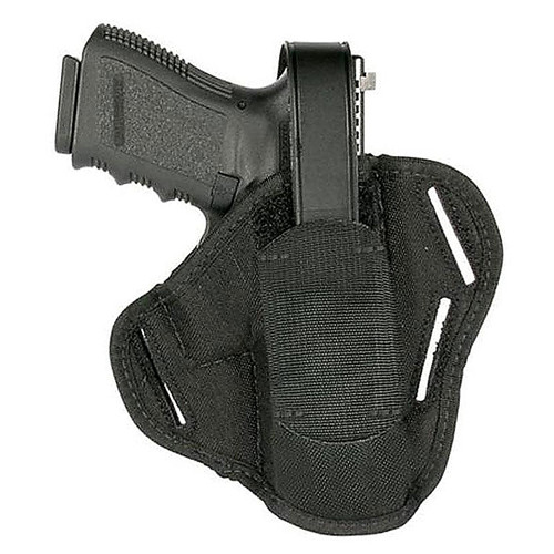 "Blackhawk 40PC02BK Pancake Holster 4"" Barrel Med/Inter Dbl Act Revolver"