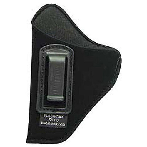 "Blackhawk 731P03BK-L ISP Holster With Clip 4.5""-5"" Barrel Large Frame Autos Black LH"