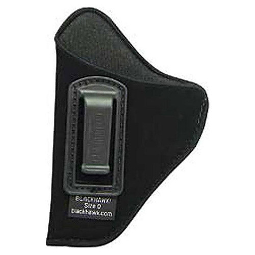 "Blackhawk 73IP01BK-L ISP Holster With Clip 3""-4"" Med Auto .32-.380 Black LH"