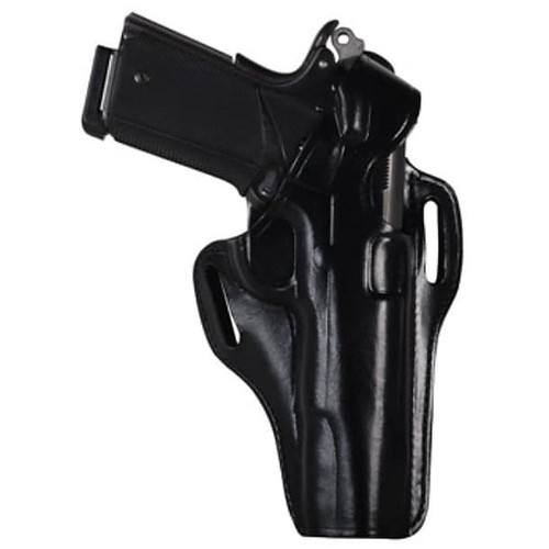 Bianchi 25058 56 Serpent Belt Slide Leather Hip Holster Black RH
