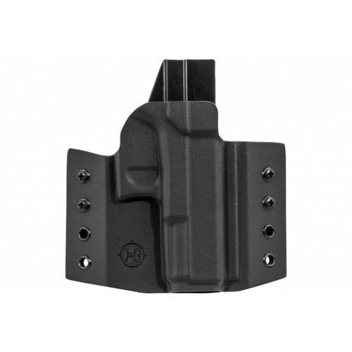 C&G Holsters 001-100 Covert OWB Kydex Black RH