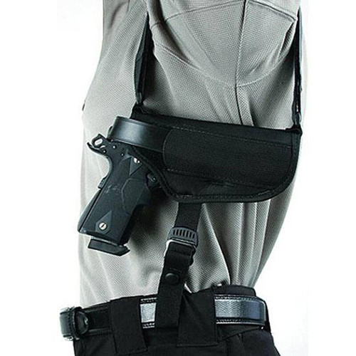 "Blackhawk 40HS05BK-MD Shoulder Holster Horzl 4.5""-5"" Auto Md AMBI"