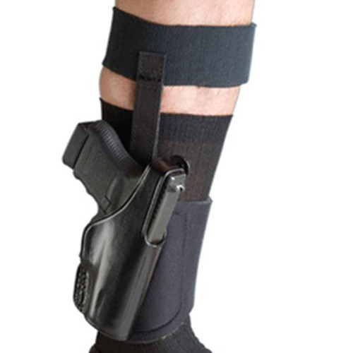 Bianchi 24010 150 Negotiator Leather Ankle Holster Black RH