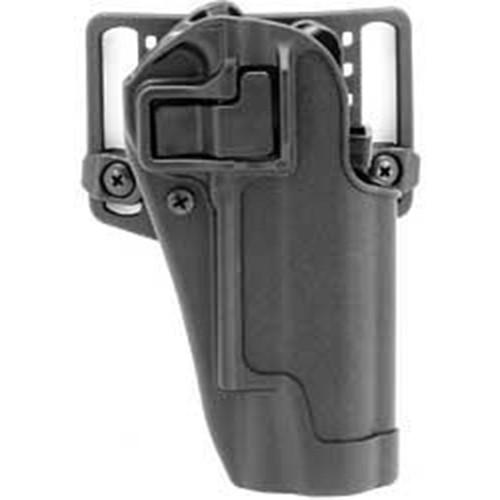 Blackhawk 410503BK-R Serpa CQC Carbon Fiber Holster w/ Paddle Matte Finish Colt 1911 Black RH