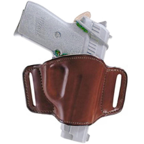 Bianchi 19254 Minimalist Belt Slide Leather Hip Holster Tan RH
