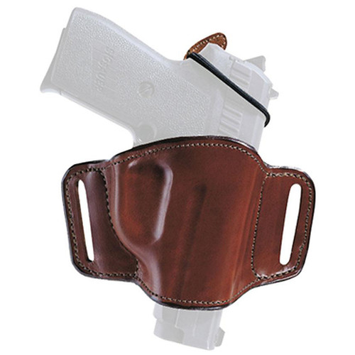 Bianchi 19256 Minimalist Belt Slide Leather Hip Holster Tan RH