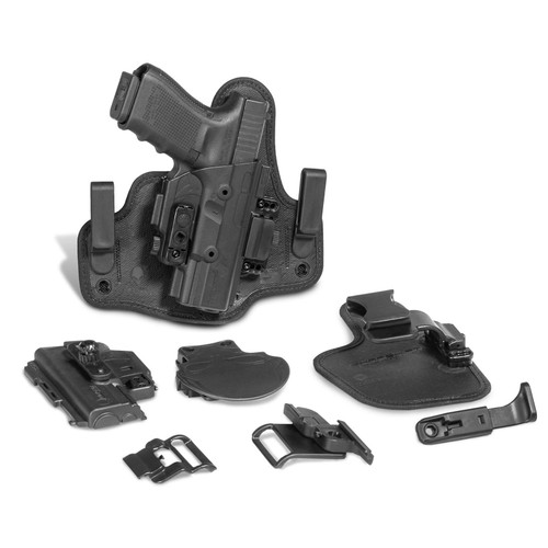 Alien Gear Holsters SSHK-0057-RH-R1 ShapeShift Glock 19 Polymer Black RH