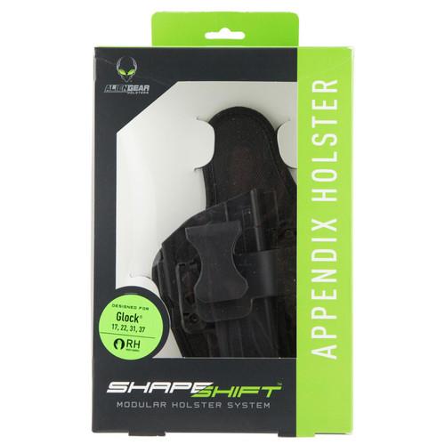 Alien Gear Holsters SSAP-0882-RH ShapeShift AIWB S&W M&P Shield/2.0 9 Polymer RH