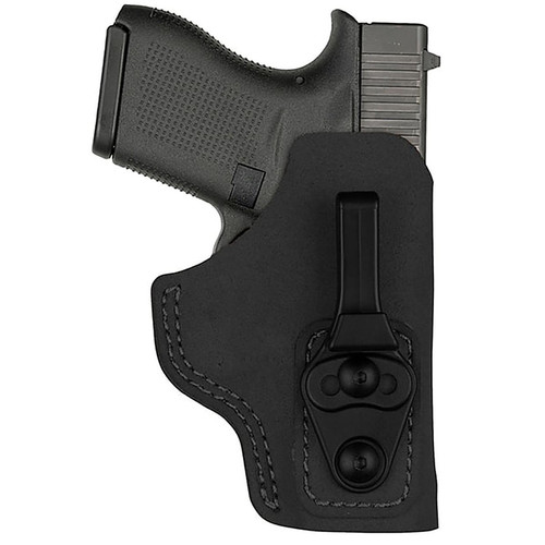 Bianchi 10758 Model 6T Waistband Tuckable Concealment Holster Black RH