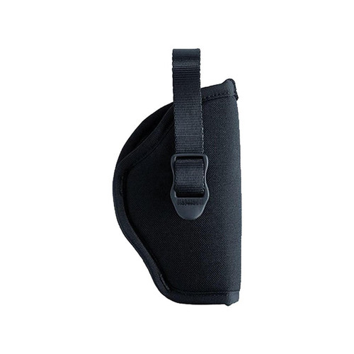 "Blackhawk B990221BK-R Sportster Hip Holster With Retention Strap 2"" Barrel Small Double Action 5-Round Revolver Black RH"