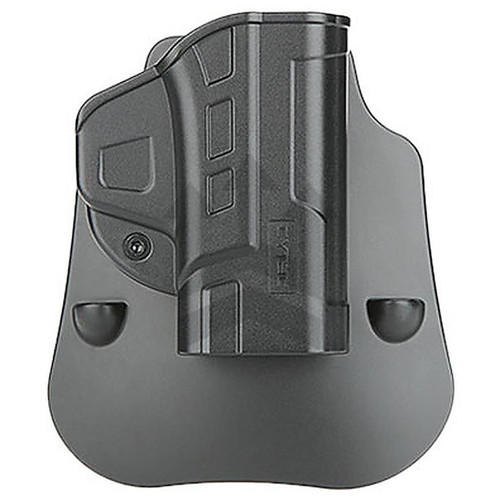 CYTAC CY-FMPS Fast Draw Military Grade Polymer Hip Holster Black RH