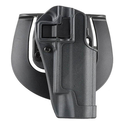 Blackhawk 413502BK-R Serpa Sportster Holster w/ Paddle Glock 19/23/32/36 Gunmetal Gray RH