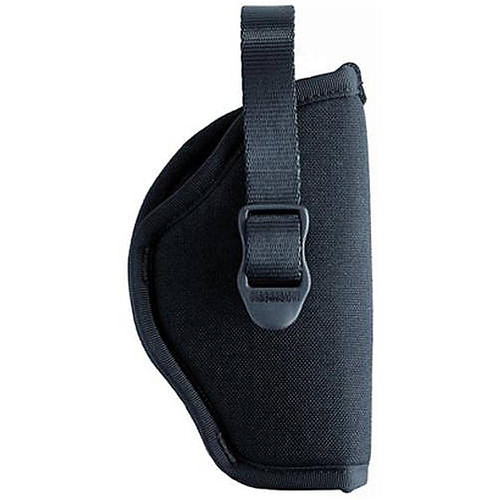 "Blackhawk 73NH00BK-R Hip Holster With Retention Strap 2""-3"" Barrel Small/Med Double Action Revolver Black RH"