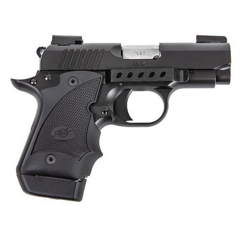 Techna Clips MIC9BR Conceal Carry Gun Belt Clip Kimber Micro 9mm Black Carbon Fiber RH