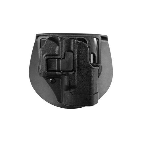 Blackhawk 410501BK-R Serpa CQC Paddle Holster Glock 26/27/33 Black Matte Finish RH